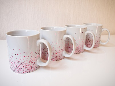 service de 4 mugs