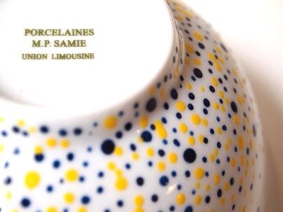 Zoom sur design et tampon Porcelaine de Limoges