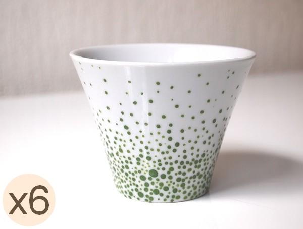 gobelet vert - gobelets verts - tasse gobelet vert