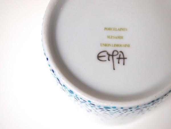 Mug Elévation bleu lapis et turquoise